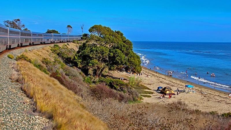 Riding the Historical California Zephyr Dome Car Down the California Coast