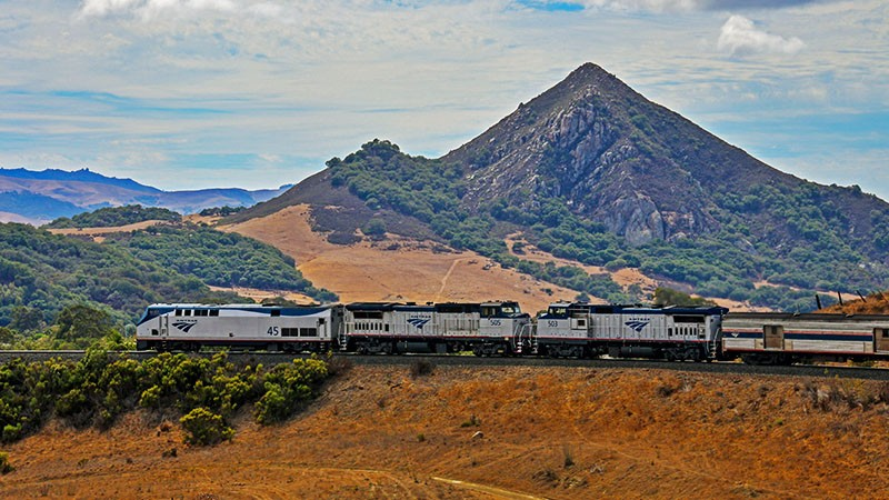 Riding the Historical California Zephyr Dome Car Down the California Coast