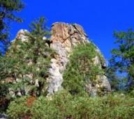 Castle Rock Hike in Big Bear