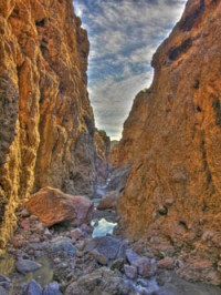 Owl Canyon in Rainbow Basin