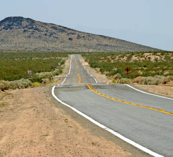 Route 66 From Helendale to Barstow