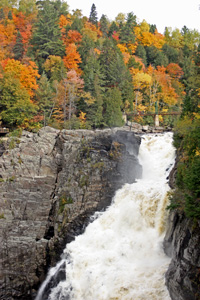 Canyon Sainte-Anne in Quebec