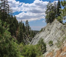 San Andreas Fault near Wrightwood