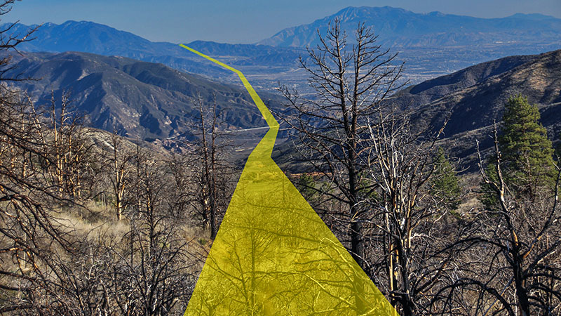 San Andreas Fault Tour near Wrightwood, from Cajon Pass to ...