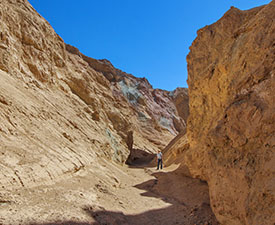 Desolation Canyon Hike in Death Valley
