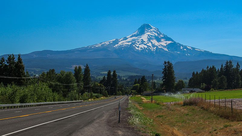 The iconic mountain of Oregon: Mt. Hood