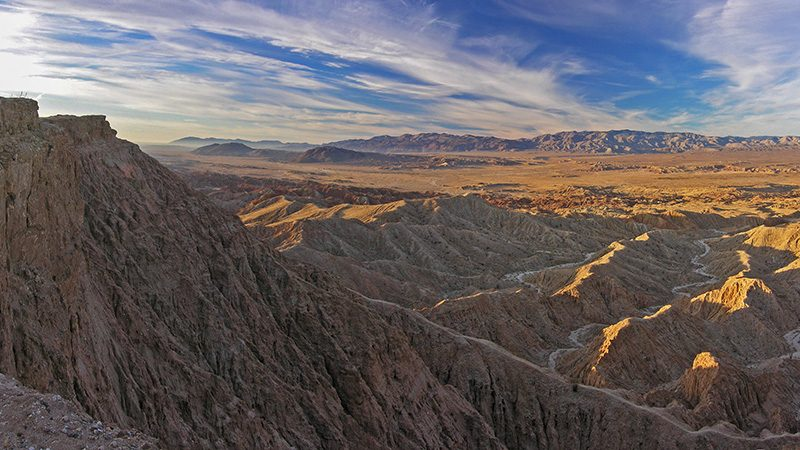 Fonts Point in Anza-Borrego