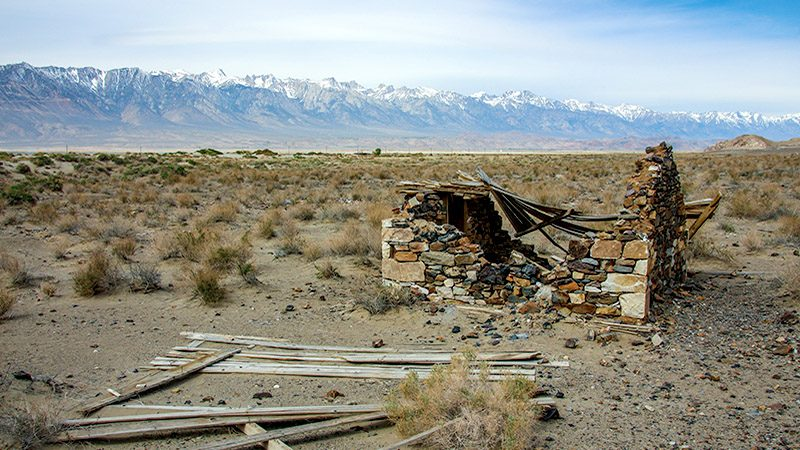 Ghost Town Trail Near Lone Pine