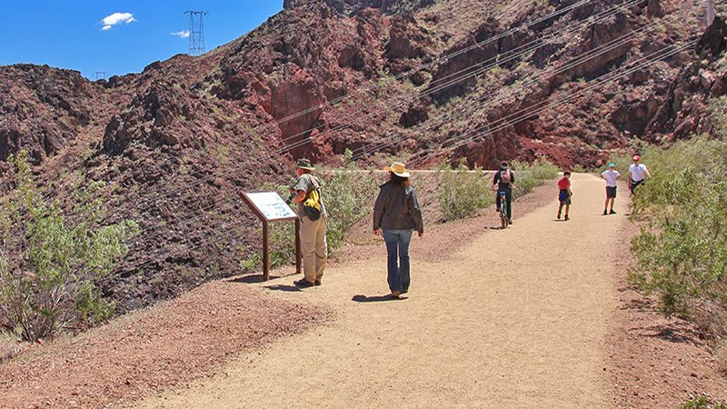 Hoover Dam's Historic Railroad Tunnel Hiking Trail